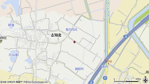 〒656-0327 兵庫県南あわじ市志知北の地図