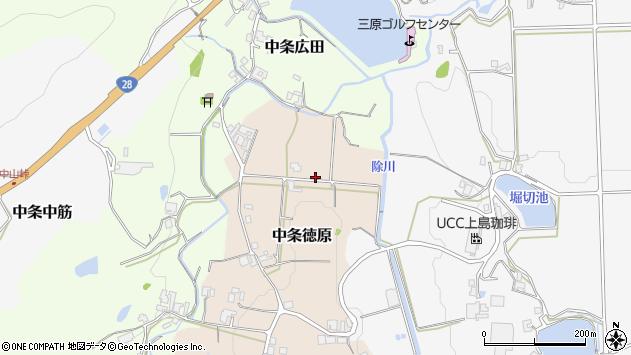 〒656-0142 兵庫県南あわじ市中条徳原の地図