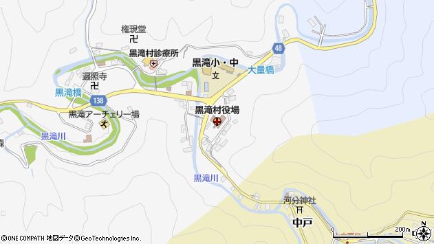 〒638-0200 奈良県吉野郡黒滝村(以下に掲載がない場合)の地図