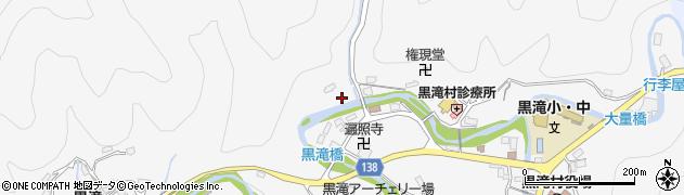 奈良県黒滝村(吉野郡)寺戸周辺の地図