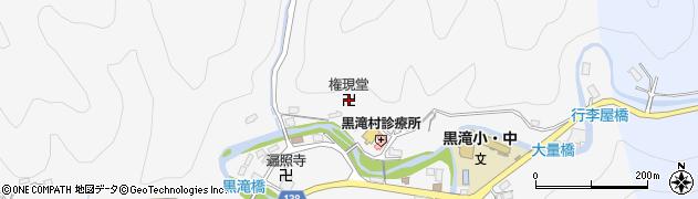 権現堂周辺の地図
