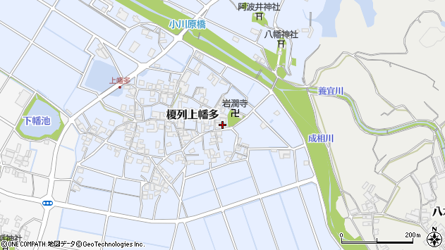 〒656-0422 兵庫県南あわじ市榎列上幡多の地図