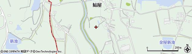兵庫県洲本市鮎屋周辺の地図