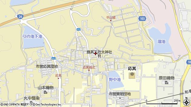 〒649-7201 和歌山県橋本市高野口町応其の地図