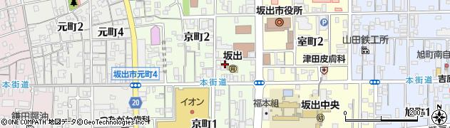 善光寺周辺の地図