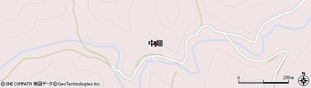 和歌山県紀の川市中畑周辺の地図