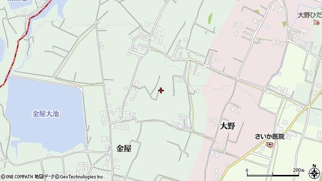 〒656-0046 兵庫県洲本市金屋の地図