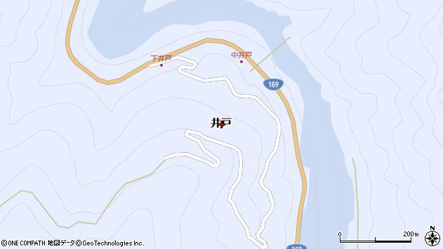 〒639-3558 奈良県吉野郡川上村井戸(その他)の地図