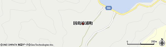 広島県尾道市因島椋浦町周辺の地図