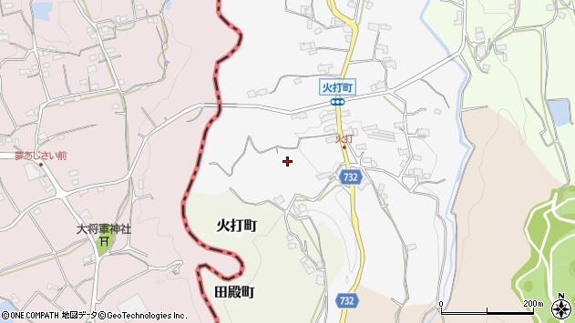 〒637-0068 奈良県五條市火打町の地図