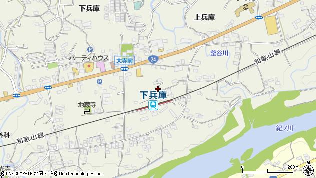 〒648-0016 和歌山県橋本市隅田町下兵庫の地図