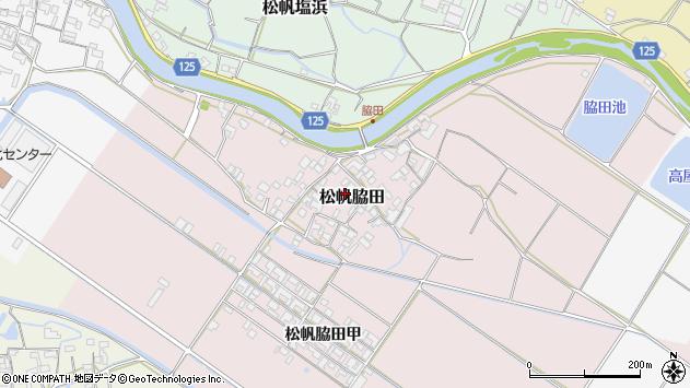 〒656-0312 兵庫県南あわじ市松帆脇田の地図