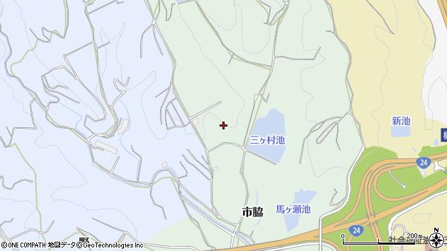 〒648-0073 和歌山県橋本市市脇の地図