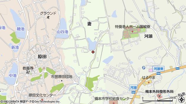 〒648-0062 和歌山県橋本市妻の地図