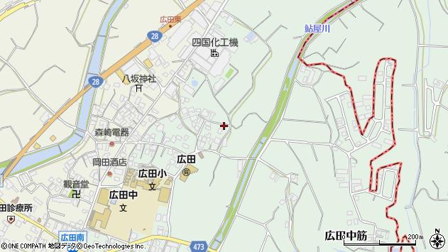 〒656-0131 兵庫県南あわじ市広田中筋の地図