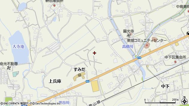 〒648-0014 和歌山県橋本市隅田町上兵庫の地図