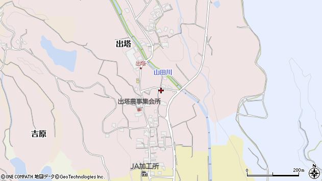 〒648-0083 和歌山県橋本市出塔の地図