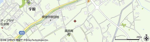 兵庫県洲本市宇原周辺の地図