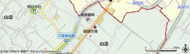 ラビット周辺の地図