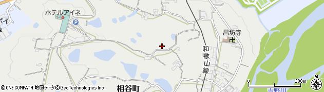 奈良県五條市相谷町周辺の地図