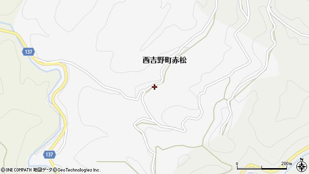 〒638-0643 奈良県五條市西吉野町赤松の地図