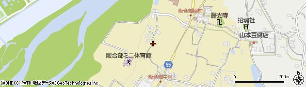 奈良県五條市中町周辺の地図