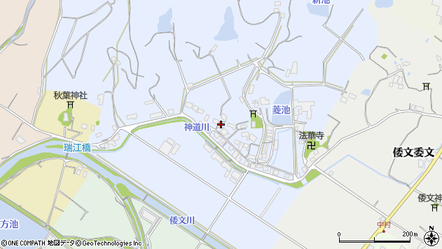 〒656-0411 兵庫県南あわじ市倭文高の地図
