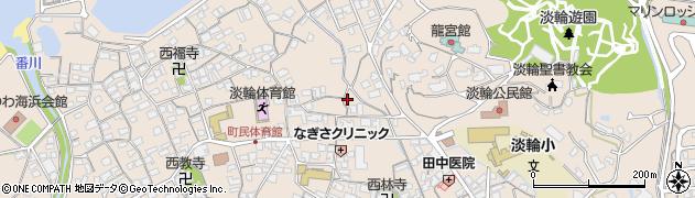 大阪府泉南郡岬町淡輪1281-1周辺の地図