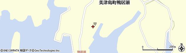 長崎県対馬市美津島町鴨居瀬周辺の地図