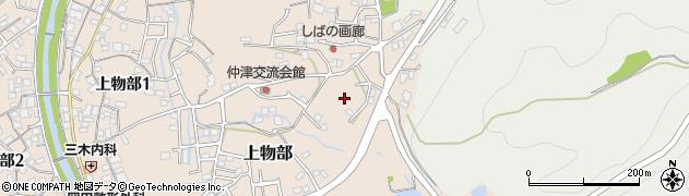 兵庫県洲本市津田周辺の地図