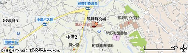 広島県安芸郡熊野町周辺の地図