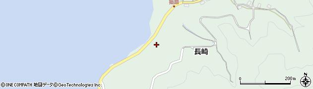 広島県尾道市因島重井町(長崎)周辺の地図