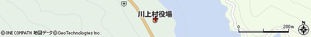 奈良県吉野郡川上村周辺の地図