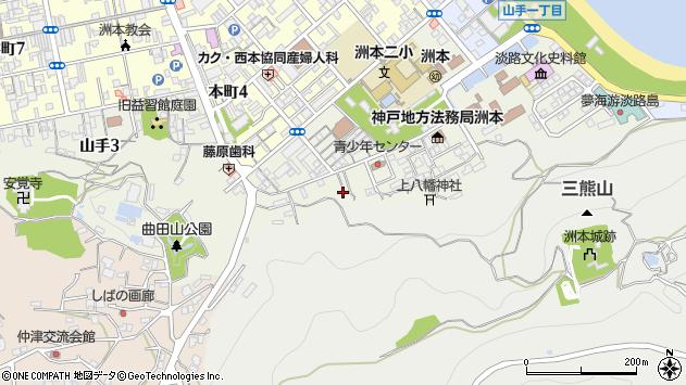 〒656-0024 兵庫県洲本市山手の地図