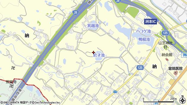 〒656-0101 兵庫県洲本市納の地図
