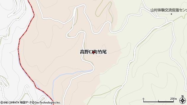 〒649-7214 和歌山県橋本市高野口町竹尾の地図