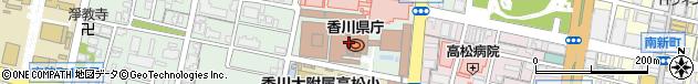 香川県周辺の地図