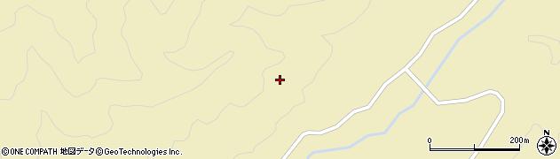 山口県萩市川上(江舟)周辺の地図
