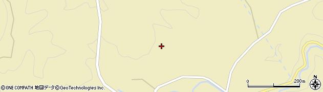 山口県萩市川上(杣木谷)周辺の地図