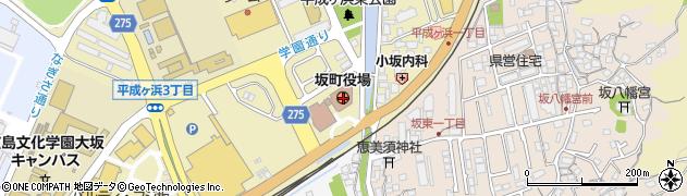 広島県安芸郡坂町周辺の地図