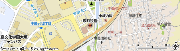 広島県坂町(安芸郡)周辺の地図