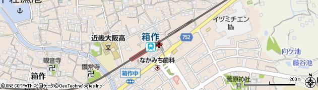 大阪府阪南市周辺の地図