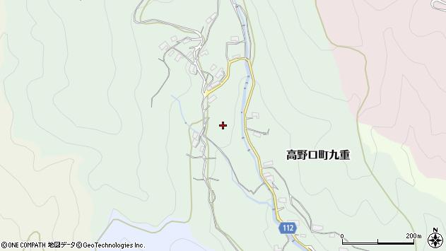 〒649-7215 和歌山県橋本市高野口町九重の地図