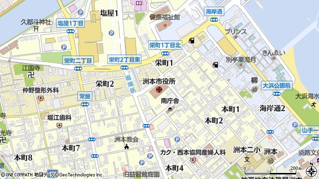〒656-0000 兵庫県洲本市(以下に掲載がない場合)の地図