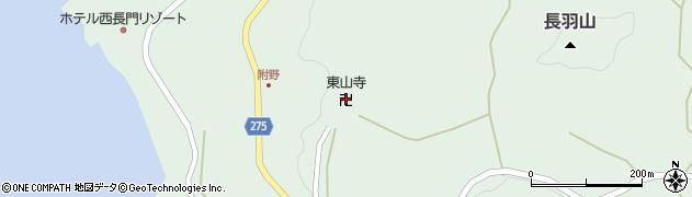 東山寺周辺の地図