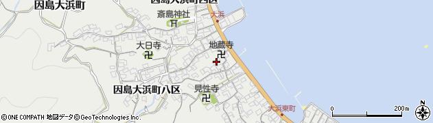 広島県尾道市因島大浜町(五区)周辺の地図