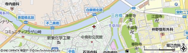 谷盛商店周辺の地図