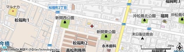 香川県高松市松福町2丁目周辺の地図