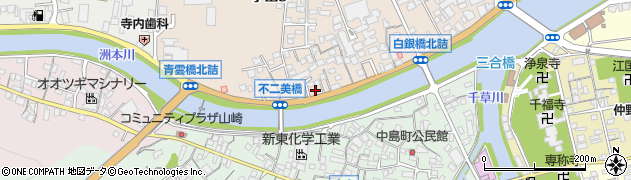 赤旗淡路出張所周辺の地図