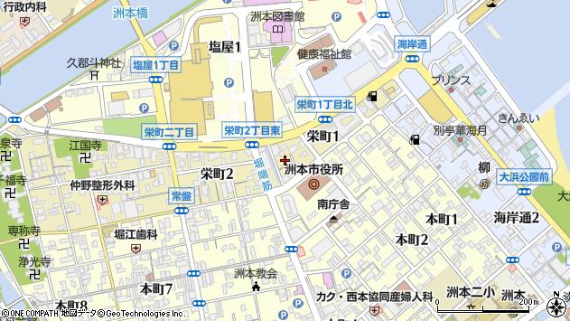 〒656-0026 兵庫県洲本市栄町の地図
